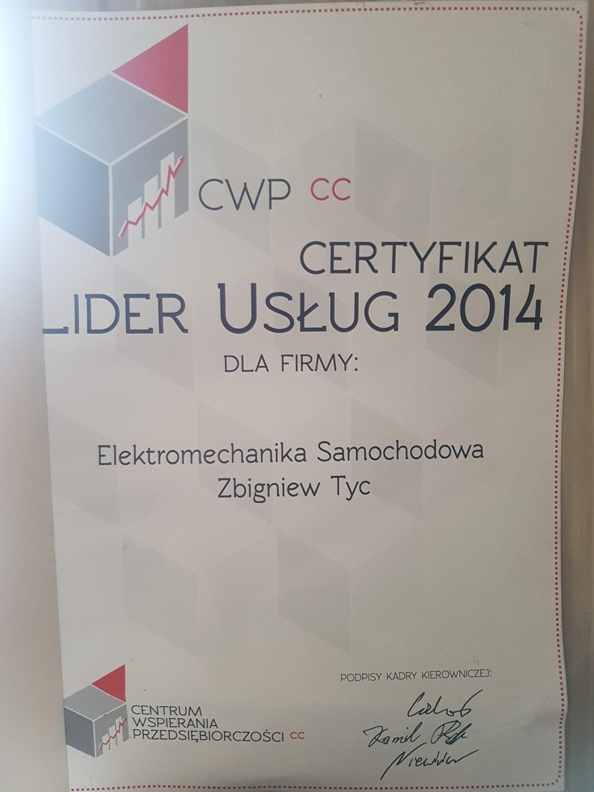 Lider Usług Elektromechanicznych Tyc Płock